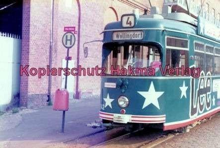Kiel Straßenbahn - Endstation Holtenau - Linie 4 - Wagen Nr. 242