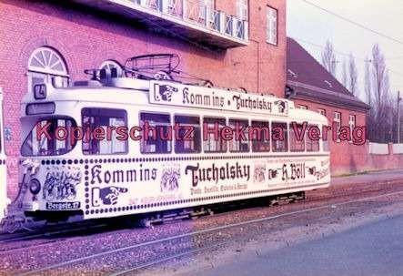 Kiel Straßenbahn - Endstation Holtenau - Linie 4 - Wagen Nr. 247