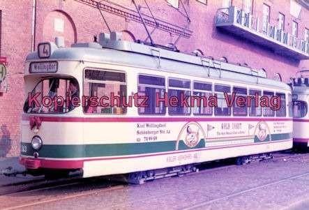 Kiel Straßenbahn - Endstation Holtenau - Linie 4 - Wagen Nr. 243