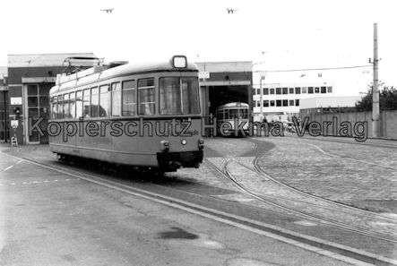 Krefeld Straßenbahn - Hauptdepot - Fahrschulwagen Nr. 482