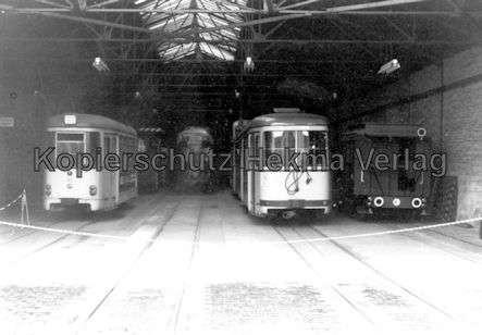 Krefeld Straßenbahn - Hauptdepot - 1
