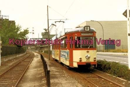 Mainz Straßenbahn - Linie 8 - Wagen Nr. 232 - Bild 2