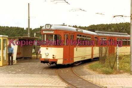Mainz Straßenbahn - Linie 8 - Wagen Nr. 231 - Bild 1