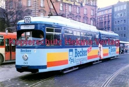 Mainz Straßenbahn - Linie 10 - Wagen Nr. 243