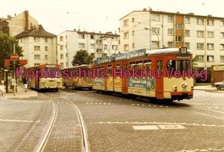 Mainz Straßenbahn - Linie 8 - Wagen Nr. 232