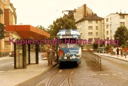 Mainz Straßenbahn - Linie 11 - Wagen - Bild 1