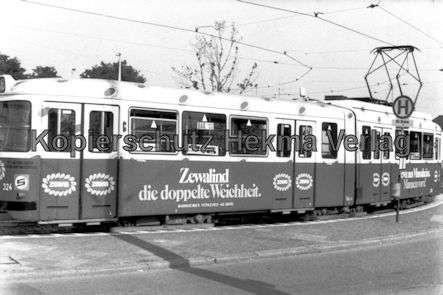 Mannheim Straßenbahn - Wagen Nr. 324