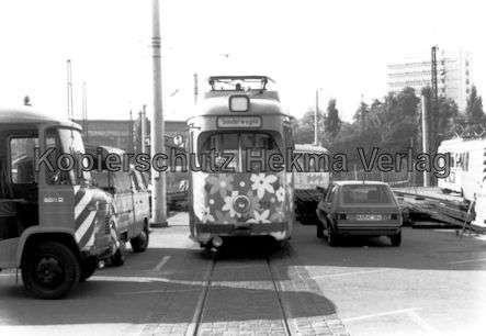 Mannheim Straßenbahn - Freiluftdepot Lutzenberg - Sonderwagen Nr. 319