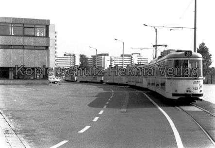 Mannheim Straßenbahn - Freiluftdepot Lutzenberg - Linie 26 - Wagen Nr. 422
