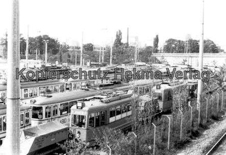 Mannheim Straßenbahn - Freiluftdepot Lutzenberg - 1