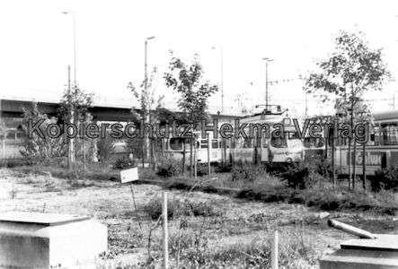 Mannheim Straßenbahn - Freiluftdepot Lutzenberg - 2