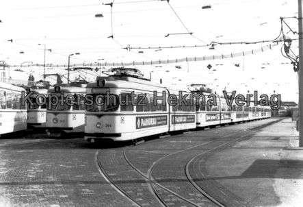 Mannheim Straßenbahn - Freiluftdepot Lutzenberg - 4