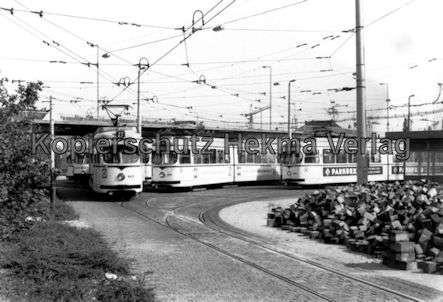 Mannheim Straßenbahn - Freiluftdepot Lutzenberg - 5
