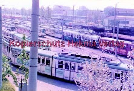 Mannheim Straßenbahn - Depot Lutzenberg - 7