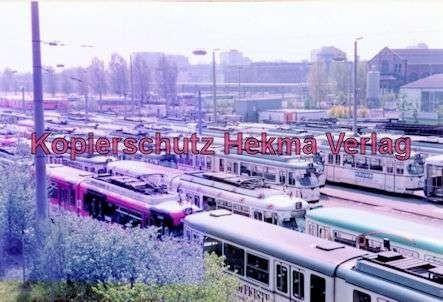 Mannheim Straßenbahn - Depot Lutzenberg - 10