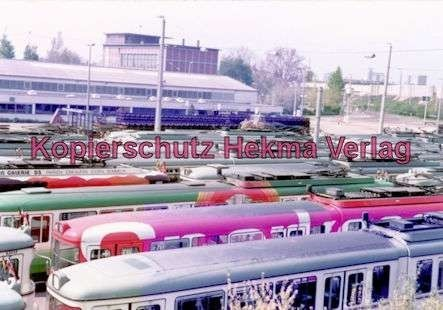 Mannheim Straßenbahn - Depot Lutzenberg - 11