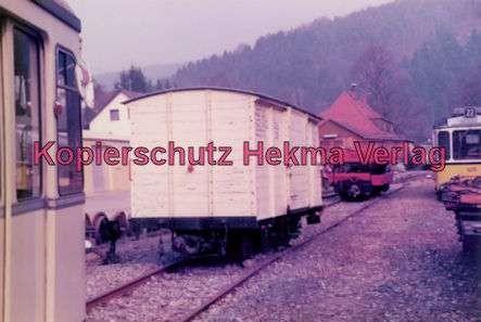 Schönau Museum - Güterwagen der OEG.