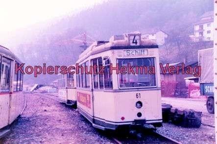 Schönau Museum - Mannheimer Straßenbahn - Triebwagen Nr. 61