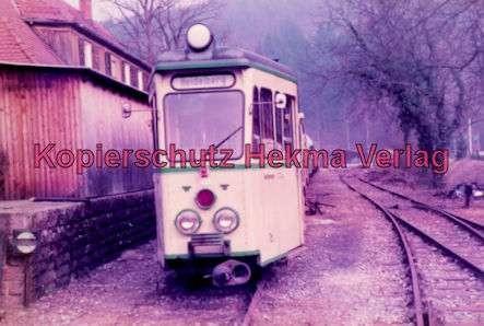 Schönau Museum - Triebwagen Nr. 70 der OEG.