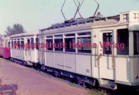 Schönberger Strand - Museumsbahnhof - Straßenbahn - Hannover Wagen Nr. 202