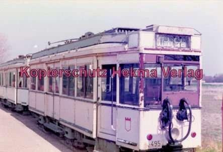Schönberger Strand - Museumsbahnhof - Straßenbahn - Wagen Nr. 3495