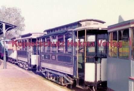 Schönberger Strand - Museumsbahnhof - Mehrere Museumswagen - Wagen Nr. 656