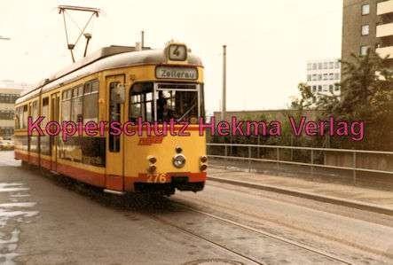 Würzburg Straßenbahn - Linie 4 Wagen Nr. 276