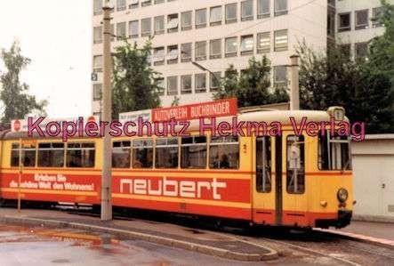 Würzburg Straßenbahn - Linie 1 Wagen