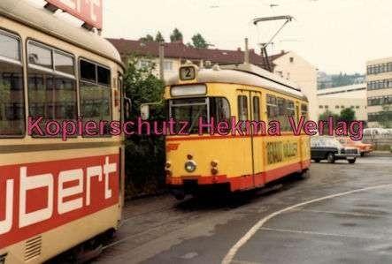 Würzburg Straßenbahn - Linie 2 Wagen Nr. 271