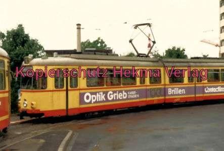 Würzburg Straßenbahn - Linie 4 Wagen Nr. 277