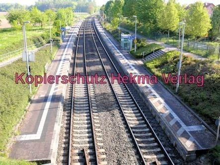 Bundesbahn - Bahnhaltepunkt Steinweiler - Bahnsteig