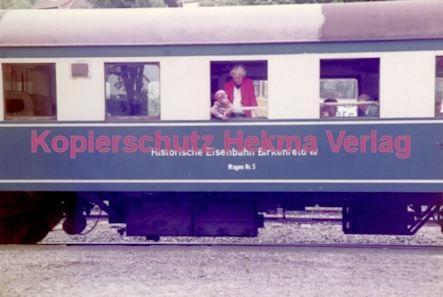 Birkenfeld (Nahe) Eisenbahn -Historischer Wagen Nr. 5