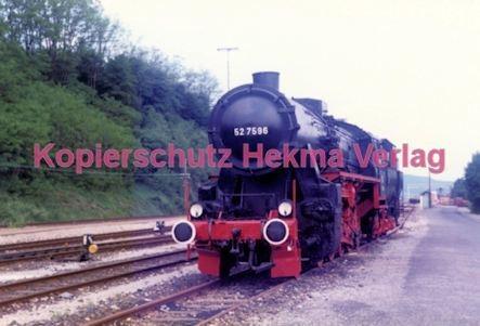 Birkenfeld (Nahe) Eisenbahn -Lok Nr. 52 7596 - Bild 1