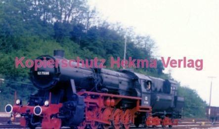 Birkenfeld (Nahe) Eisenbahn -Lok Nr. 52 7596 - Bild 2