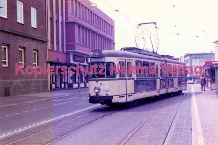 Bochum Straßenbahn - Rathausplatz - Linie 302 Wagen Nr. 29 - Bild 2
