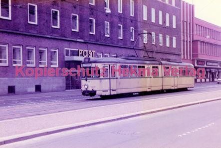 Bochum Straßenbahn - Rathausplatz - Linie 303 Wagen Nr. 44