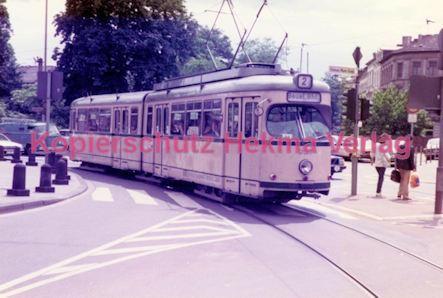 Bonn Straßenbahn Rheinuferbahnhof Linie 2 Wagen Nr 237 Hekma