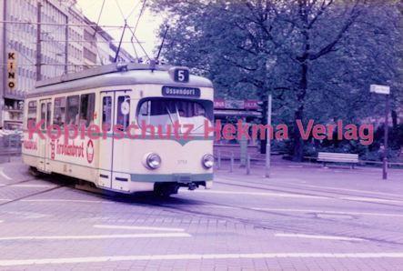 Köln Straßenbahn - Hansaring/Friesenplatz - Linie 5 Wagen Nr. 3759