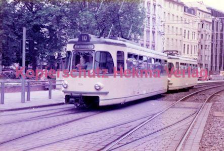 Köln Straßenbahn - Hansaring/Friesenplatz - Linie 10 Wagen Nr. 1334
