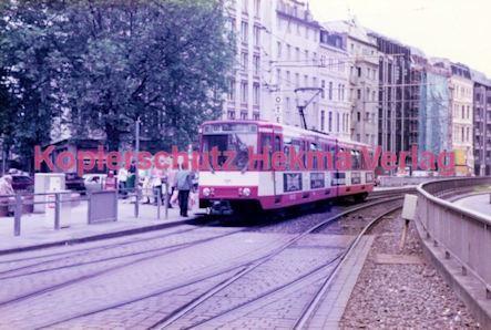 Köln Straßenbahn - Hansaring/Friesenplatz - Linie 15 Wagen Nr. 2045 - Bild 1