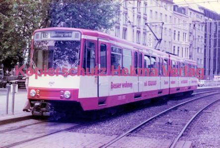 Köln Straßenbahn - Hansaring/Friesenplatz - Linie 15 Wagen Nr. 2047 - Bild 2