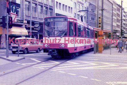 Köln Straßenbahn - Hansaring/Friesenplatz - Linie 15 Wagen Nr. 2026