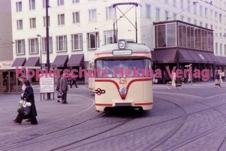 Bremen Straßenbahn - Linie 5 Wagen Nr. 421