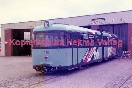 Bremen Straßenbahn Depot Linie 5 Wagen Nr 430 Hekma Verlag