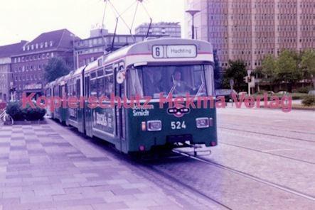 Bremen Straßenbahn - Linie 6 Wagen Nr. 524