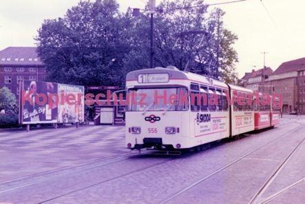 Bremen Straßenbahn - Hauptbahnhof - Linie 1 Wagen Nr. 556