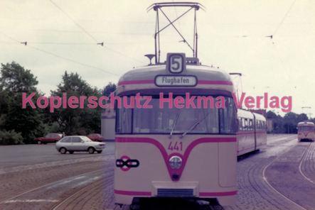 Bremen Straßenbahn - Hauptbahnhof - Linie 5 Wagen Nr. 441