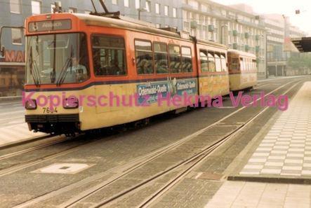 Darmstadt Straßenbahn - Langer Ludwig - Linie 8 Wagen Nr. 7604 - Bild 2