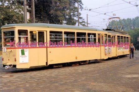 Darmstadt Straßenbahn - Linie E Wagen Nr. 201