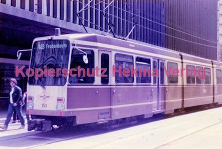 Dortmund Straßenbahn - Haltestelle Kampstraße - Linie 403 Wagen Nr. 153